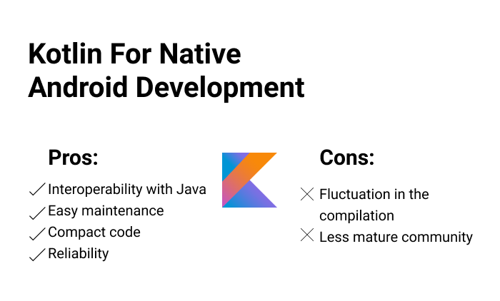 Kotlin For native Android Development