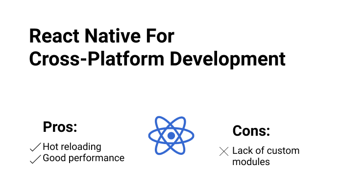 React Native For Cross-Platform Development