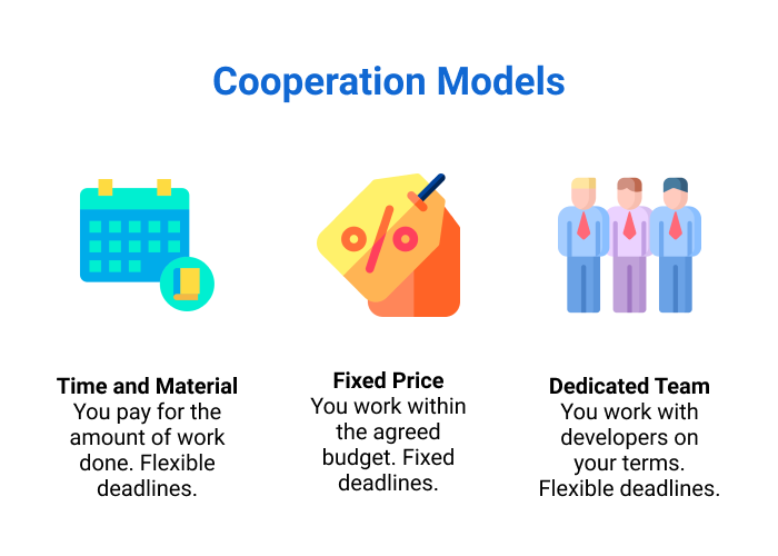 3 major cooperation models.