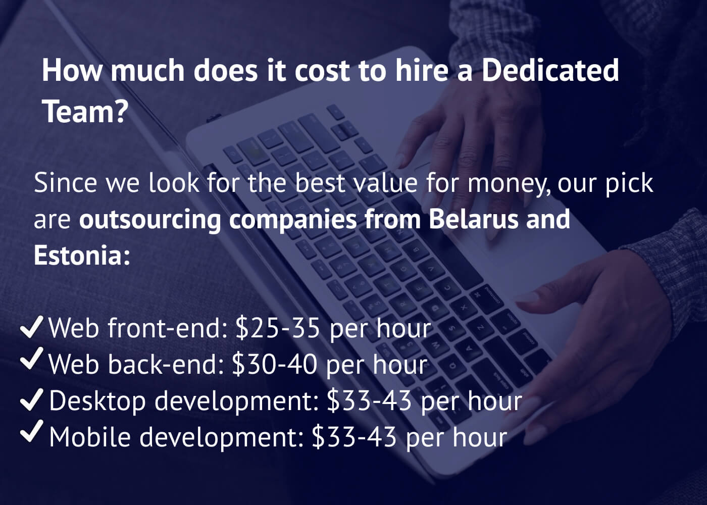 How much does it cost to hire a dedicated team
