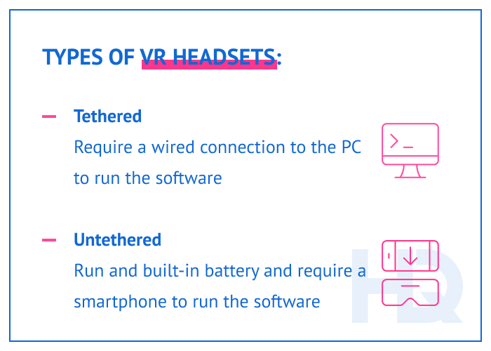 Types of VR headsets