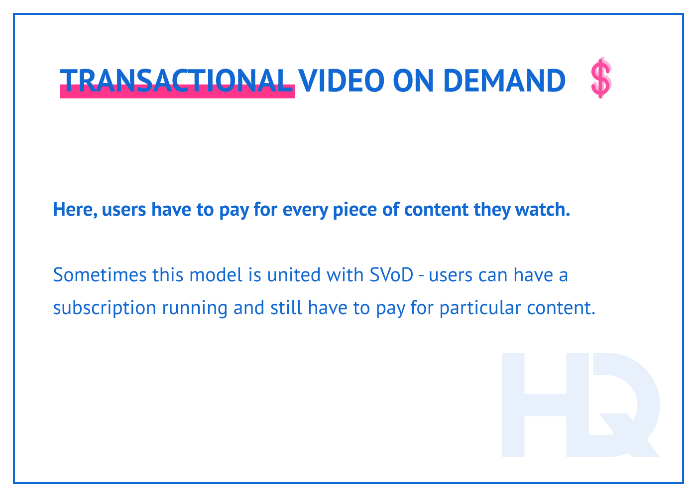 TVoD description.