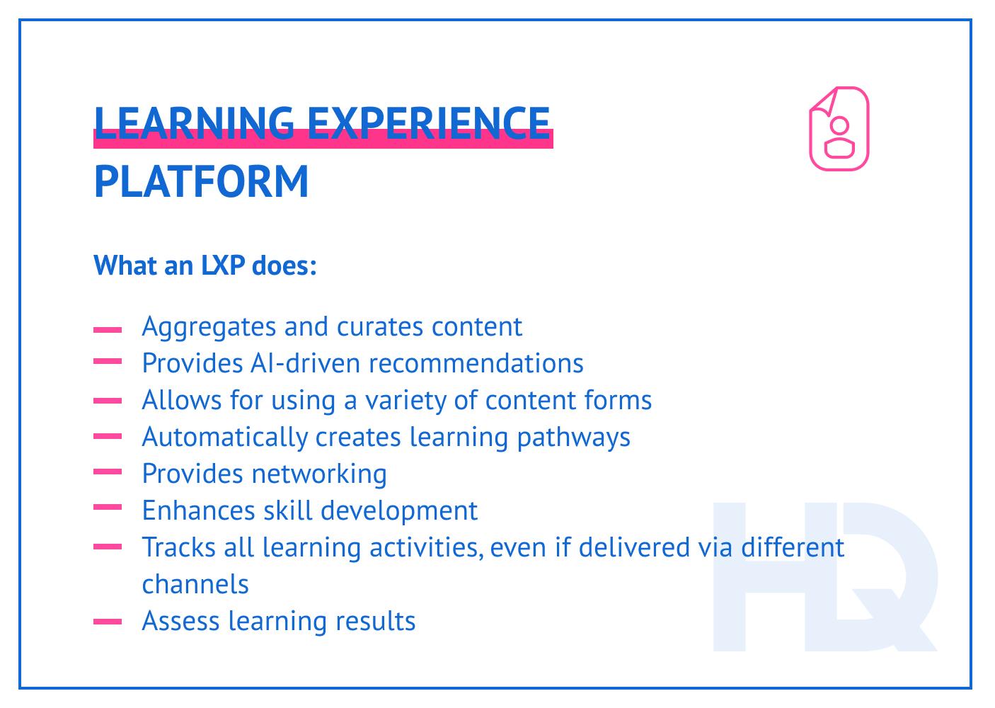 LXP benefits