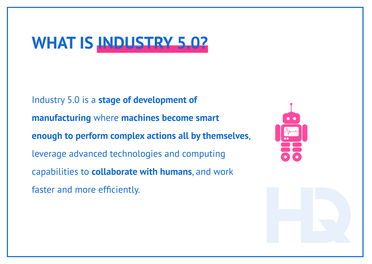 What is Industry 5.0?