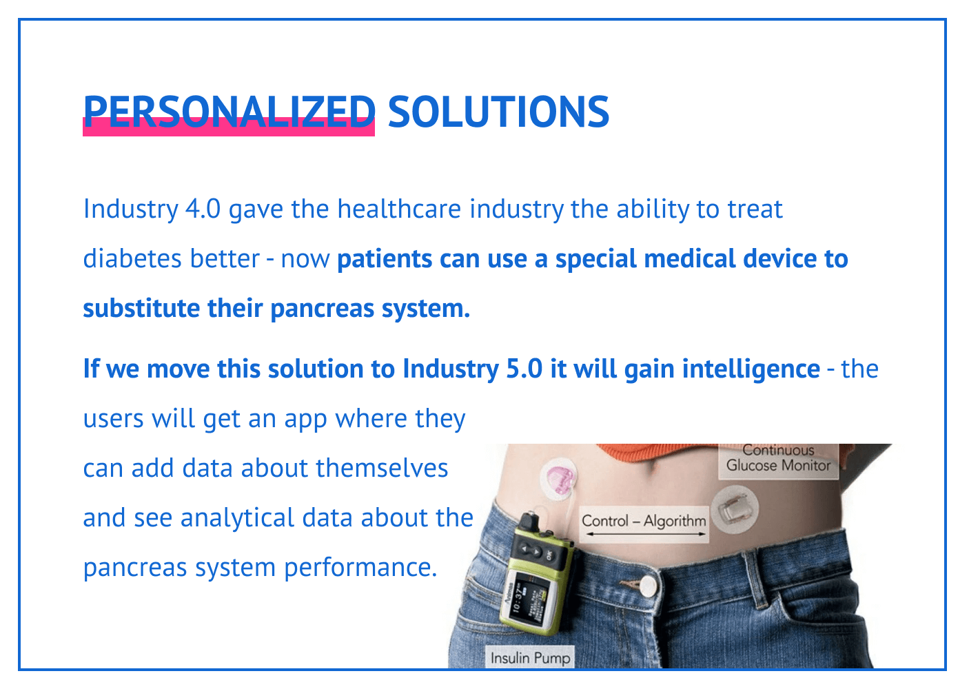 Personalized solutions with Industry 5.0.