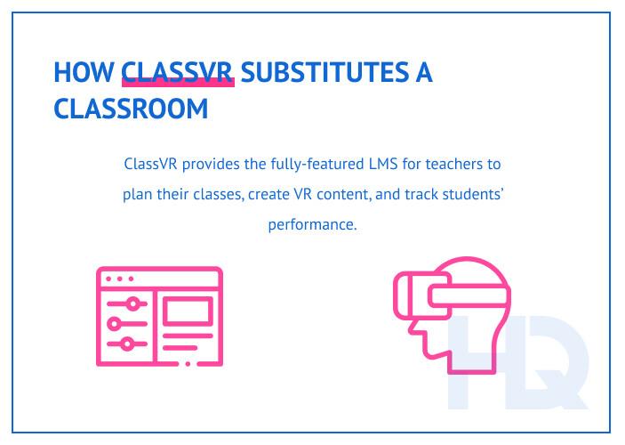 ClassVR as a virtual classroom