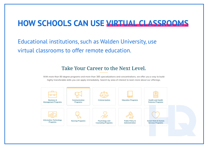 How schools can use virtual classrooms