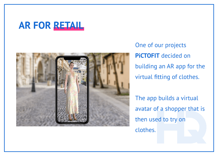 AR for retail