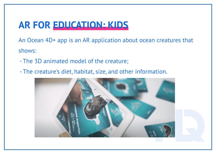 AR for kids education