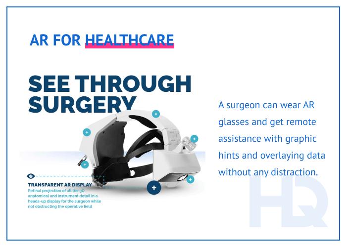 AR for healthcare