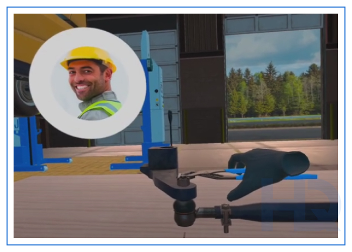 VR software for occupational training