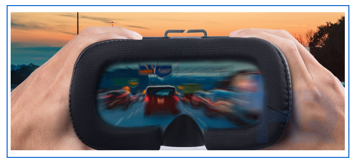VR drunk driving simulation