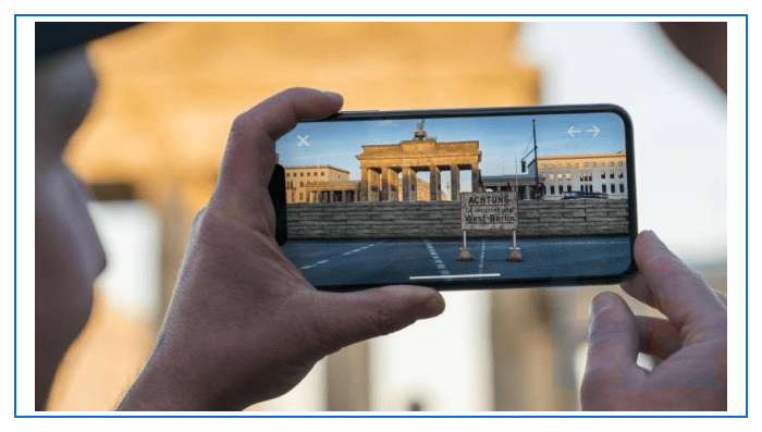 The Berlin Wall AR experience
