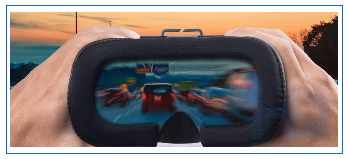 VR drunk driving simulator