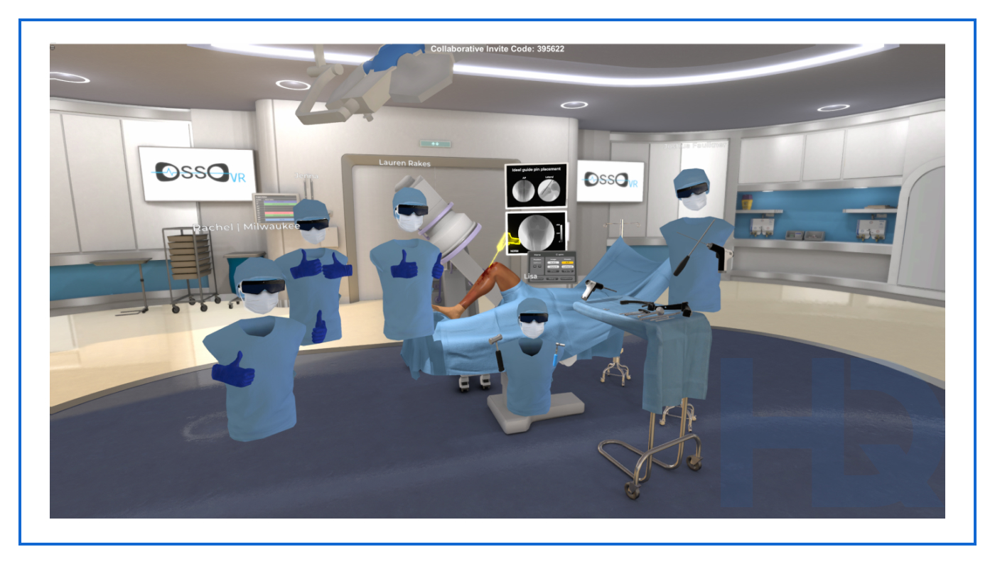 Osso VR training solution