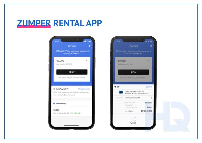 Zumper rental app
