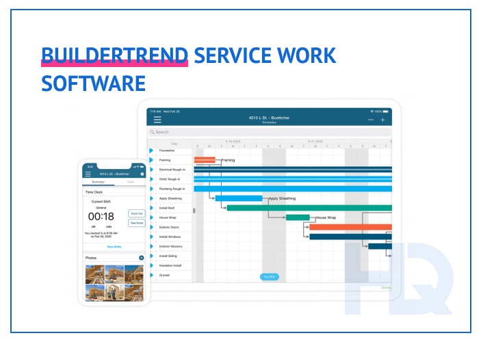 BuilderTREND service work software