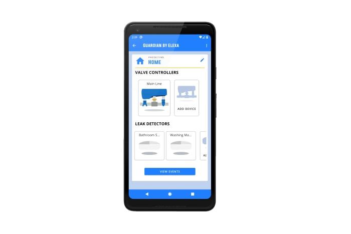 Leak detection app